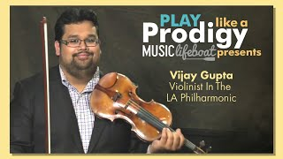 Learn From A Master: Violin Lesson 2 Holding The Violin With Master Musician Vijay Gupta