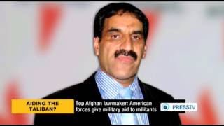 US Giving Military Aid to Taliban: Afghan Lawmaker