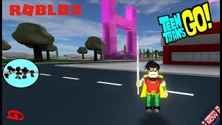 Teen Titans Go: Robin Visiting the Enemy - Roblox