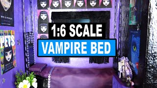 Doll Crafts | How To Make Vampire Doll Bed