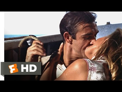Dr. No (8/8) Movie CLIP - Love at Sea (1962) HD