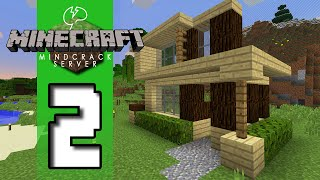 Beef Plays Minecraft - Mindcrack Server - S5 EP02 - First Home!