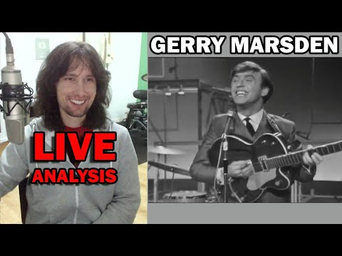 British guitarist analyses Gerry and The Pacemakers live in 1963!