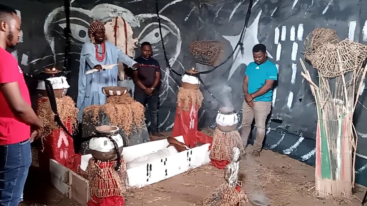Download D making of ole owo new Yoruba movie ,segun Ogungbe and Owolabi Ajasa