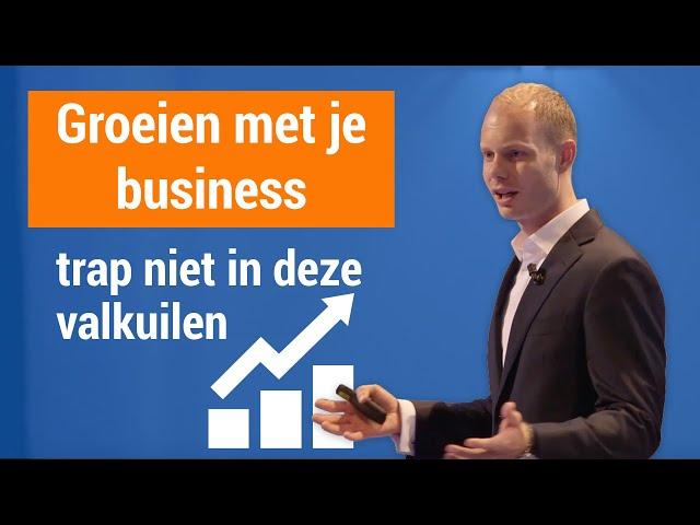 Groeien met je business: de valkuilen en hoe je deze overwint | IMU Event