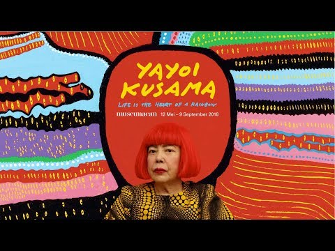 YAYOI KUSAMA JAKARTA - LIFE IS THE HEART OF A RAINBOW di MUSEUM MACAN