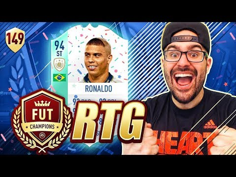WTF BIRTHDAY R9 RONALDO! *RIP I SOLD IT* FIFA 18 Road To Fut Champions #149 RTG