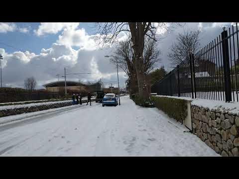 """Snow """"sports"""" in Dublin ( ski )"""