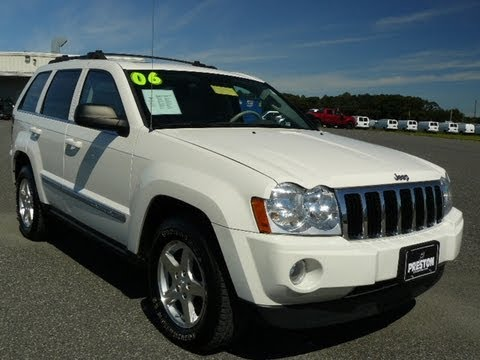 used car maryland for sale 2006 jeep grand cherokee limited 4wd md inspected youtube. Black Bedroom Furniture Sets. Home Design Ideas