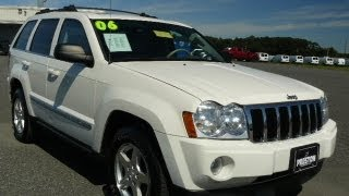 Used Car Maryland For Sale 2006 Jeep Grand Cherokee Limited 4WD MD Inspected