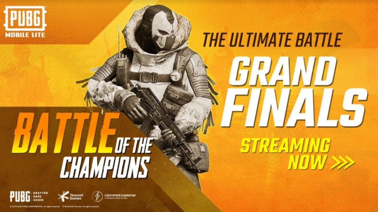 PUBG MOBILE Lite- Battle of the Champions | Grand Finals