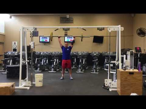 Tyler Hansen CrossFit open 18.5