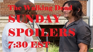 The Walking Dead Season 7 - SUNDAY SPOILERS - LIVE CHAT S710