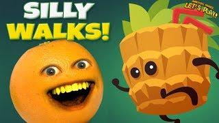 Silly Walks #1 [Annoying Orange Plays]