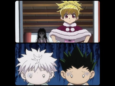 Gon and Killua training with bisky again / hxh english dubbed