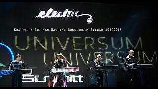 Kraftwerk The Man Machine Guggenheim Bilbao 10102016