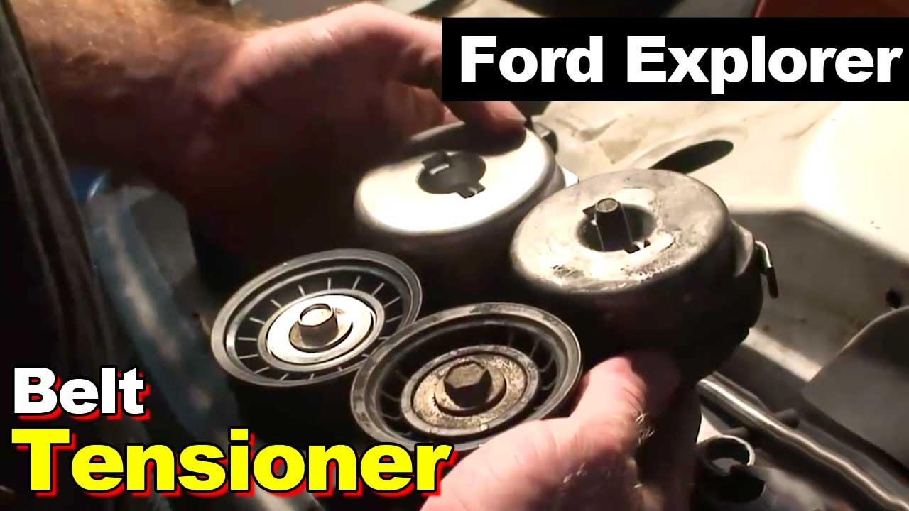 95 Ford Taurus Engine Diagram 1995 Ford Explorer Serpentine Belt Tensioner Replacement