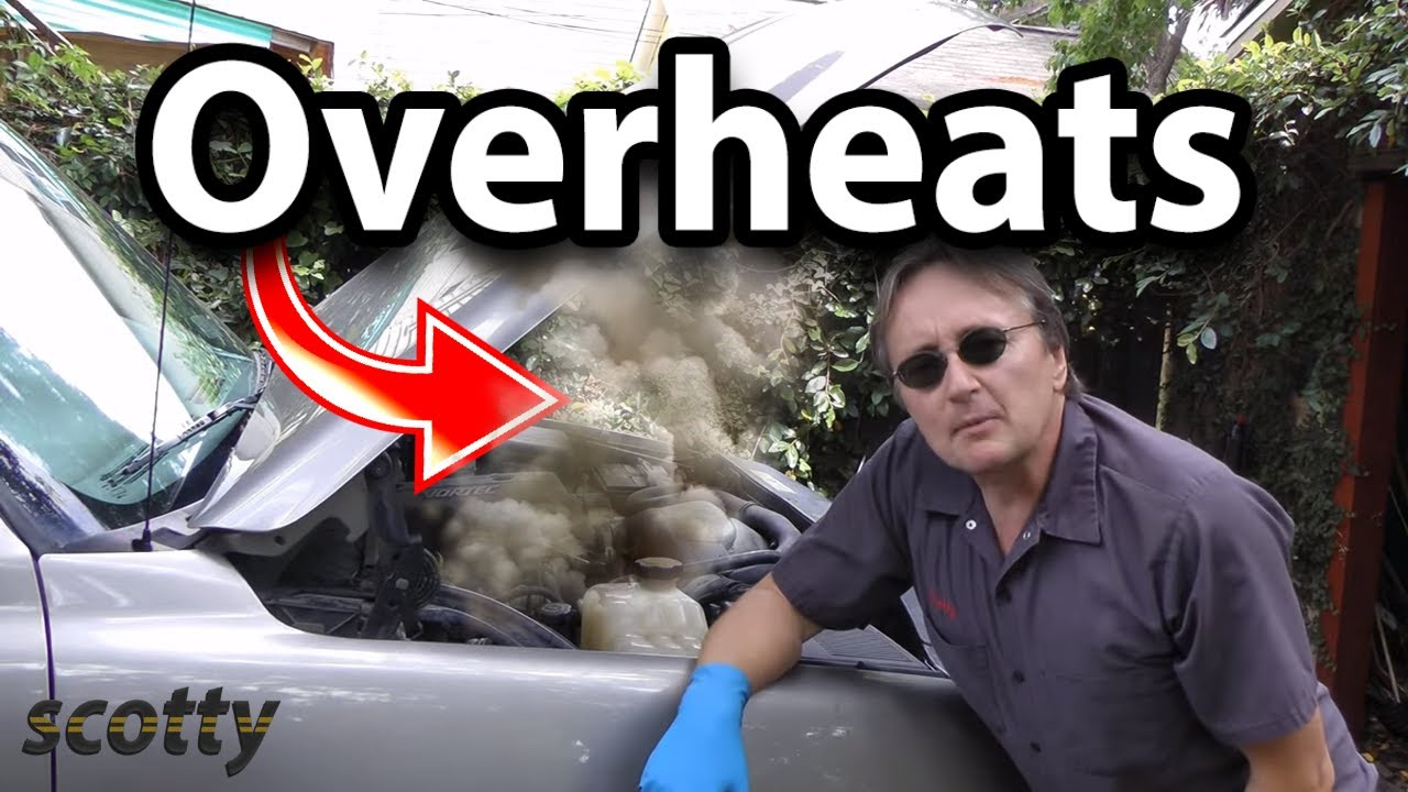 How to Fix Car that Overheats in Traffic (Fan Clutch)