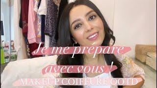 [GET READY WITH ME] Makeup | Coiffure | OOTD | Bijoux Ana luisa |