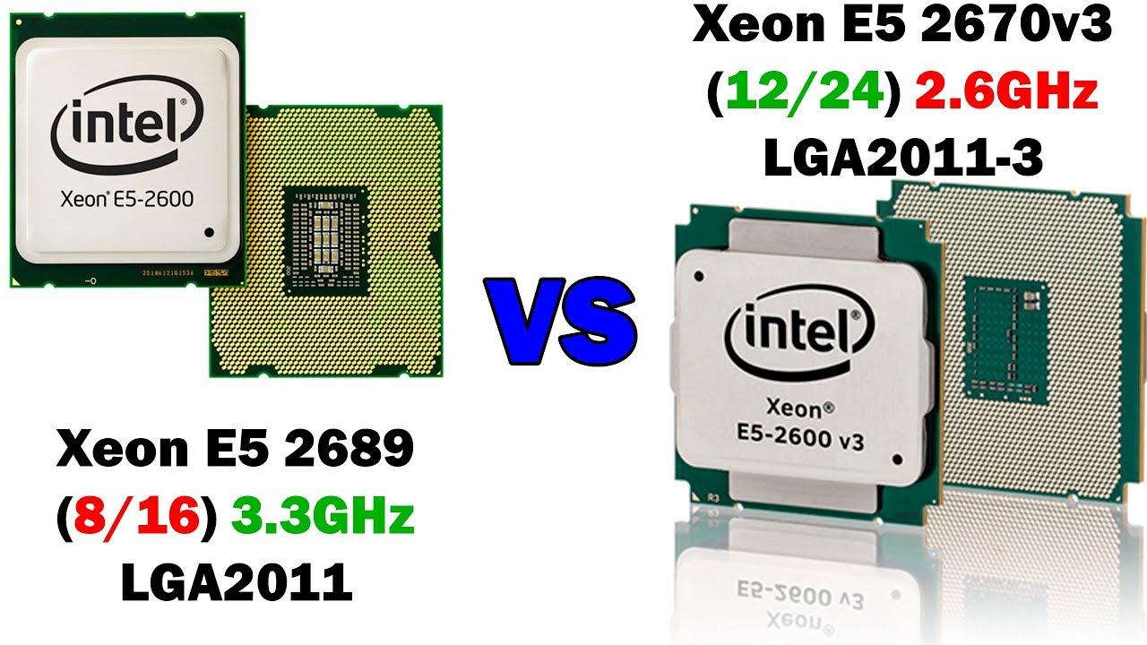 Революция в сфере компьютерного железа. Сравнение Xeon E5 2689 и E5 2670v3