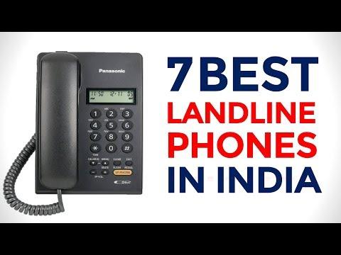 7 Best Corded Phones In India With Price | Top Landline Phones With Caller ID | 2017