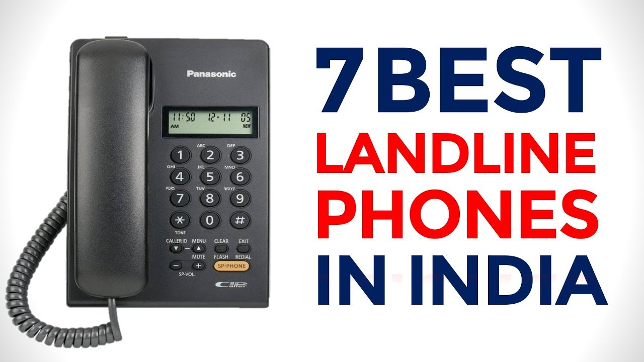 7 Best Corded Phones in India with Price