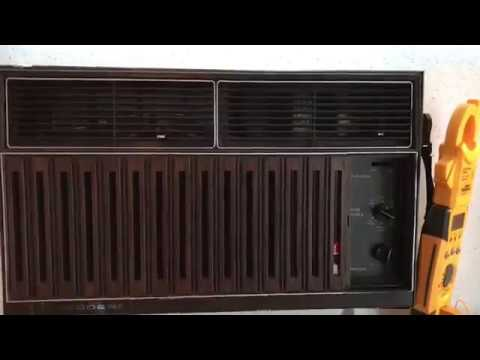 Fedders Air Conditioner >> Early 90s Fedders 5100 BTU Air Conditioner - YouTube