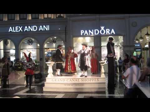 Clip of the opera singers at St Mark's Square, The Venetian