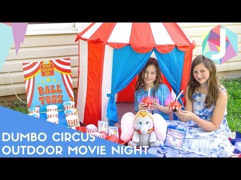 Dumbo Circus Outdoor Movie Night