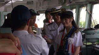 2012年05月26日 撮影。 出港用意! (海上自衛隊 体験航海 マリンフェス...