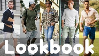 2018 Spring to Summer Mens Fashion Trends Lookbook | Summer Fashion