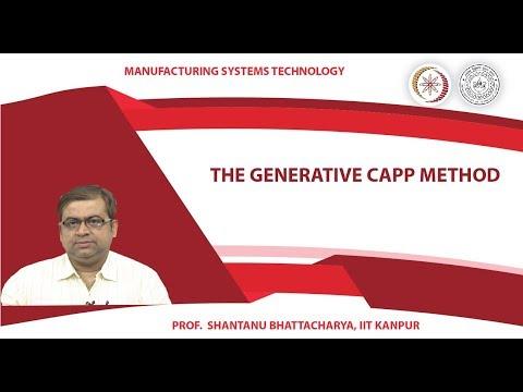 The generative CAPP method
