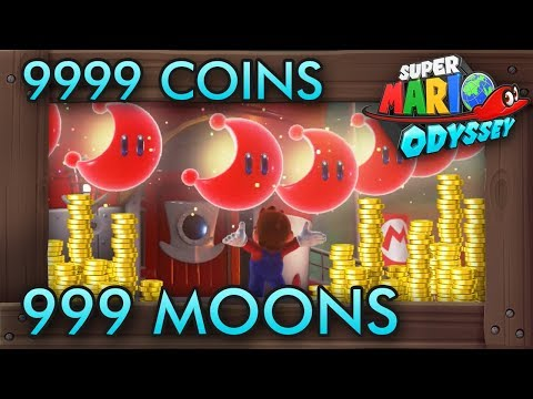 Super Mario Odyssey - How to Get 9999 Coins & 999 Moons Fast