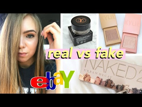 Testing $5 Fake Makeup From Ebay! (it's actually good?!)