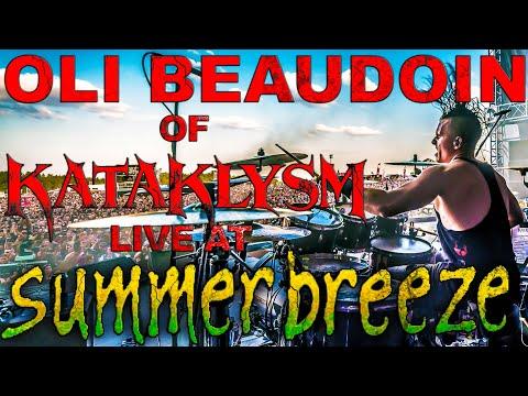 Kataklysm @ Summerbreeze 2015 - Feat. Roland Hybrid Drumming System