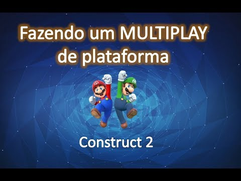 Como fazer um multiplayer no Construct 2 (parte 1/2)