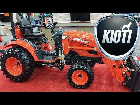 KIOTI TRACTORS! New For 2020 | CX Series And CS Series