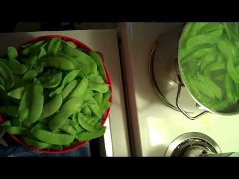 Storing fresh veggies for winter