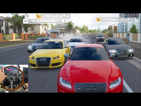 Forza Horizon 3 GoPro How To Turn OFF Traffic Glitch Audi Cruise Online