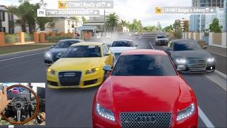 Forza Horizon 3 GoPro How To Turn OFF Traffic Glitch Audi Cruise Online