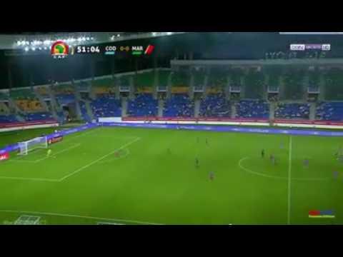 La sorcellerie afriquaine pendant le match MAROC / CONGO à la CAN 2017 !!