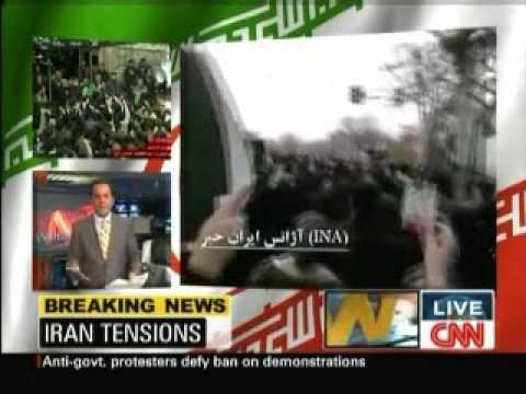 Iran: CNN World report on Ashura 27-12-09