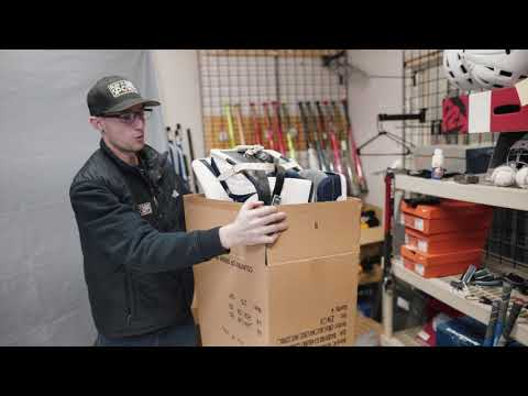 How To Ship Hockey Goalie Pads
