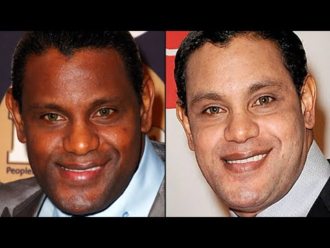 Sammy Sosa Skin Bleaching Makes Black Man Look White. Why He Did It.