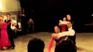 Ballroom dancing competition - Manchester 2010