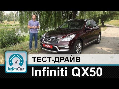 Infiniti QX50 тест драйв InfoCar.ua Инфинити КуИкс50