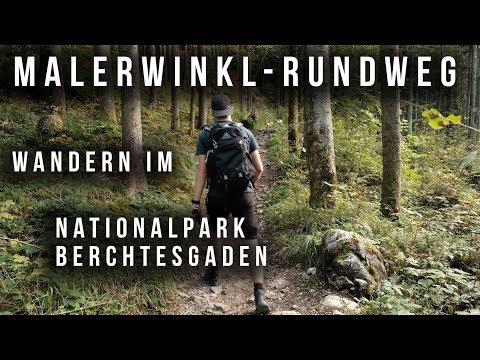 Kurze Wanderung in Berchtesgaden: Malerwinklrundweg 1