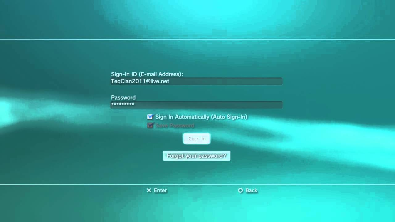 how to create a psn ps3
