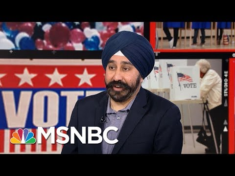 Ravi Bhalla Wins Hoboken Mayoral Race After Flyers Label Him Terrorist | Velshi & Ruhle | MSNBC