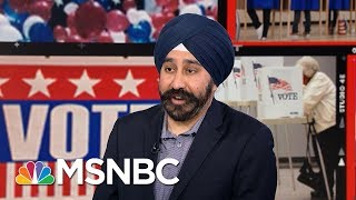 Ravi Bhalla Wins Hoboken Mayoral Race After Flyers Label Him Terrorist | Velshi & Ruhle | MSNBC